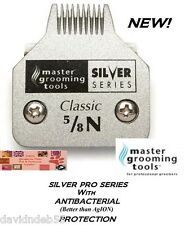 """SILVER PET A5 AG Grooming 5/8w n""""Toe Feet""""BLADE*FitMOST Andis,Oster,Wahl Clipper"""