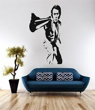 Dirty Harry cine de arte de pared calcomanía cita de vinilo de transferencia