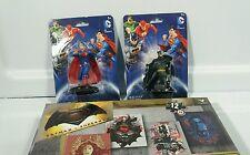 DC Comic/WB 6 pc Batman v Superman Figurine / 4 Puzzle Fun Pack