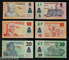 NIGERIA - 3 BANCONOTE FDS 5 10 20 NAIRA CENTRAL BANK OF NIGERIA BANKNOTES UNC