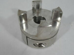Rotex GS-38 Clamping Ring Hub Coupling W/Keyway Custom Grooving ! WOW !