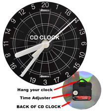 Designa Dart Uhr CD Design Wanduhr Dartzubehör Darts