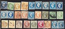 FRANCE Classique -Napoléon Cérès Sage - Lot de 81 timbres - ATTENTION : 3 scans
