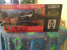 More details for hornby mixed freight digital set with main line train carriages x3 plus 6x4 boar