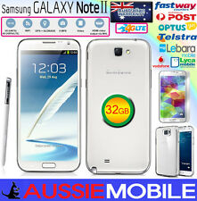 New Samsung Galaxy Note2 4G LTE 32GB Unlocked WHITE 100%GENUINE SAMSUNG NO BOX