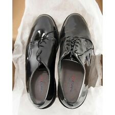 Capps Military Black Patent Leather Military Dress Uniform Shoes 9D NIB