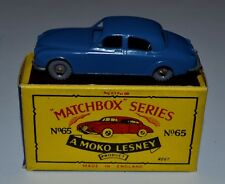Matchbox Lesney No.65a Jaguar 3.4 litre Saloon in original box