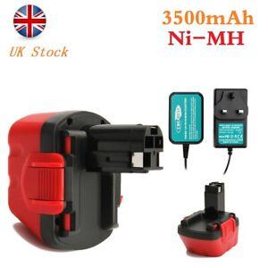 12V 3500mAh Ni-MH Battery+Charger For Bosch PSR GSR PSB 12 VE-2 EXACT 8 BAT045