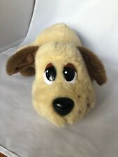 Pound Puppies Electronic Interactive Moving Whining Light Brown Plush Doll Toy