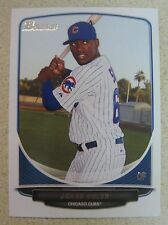 JORGE SOLER 2013 BOWMAN DRAFT TOP PROSPECTS RC #TP-9 CHICAGO CUBS ROOKIE CARD