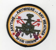 AH-64D Longbow Anytime BC Patch Cat No M5858