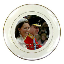 Prince William and Catherine / Will and Kate Royal Wedding Porcelain Plate #3