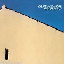 Fabrizio De Andre':  Creuza De Ma - LP 2011 Gatefold Vinile Blu'