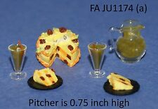 HALLOWEEN PARTY SET 1/12 Scale Dollhouse Miniature Adult Collectable FALCON