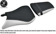 DSG 2 GRIP WHITE VINYL CUSTOM FOR YAMAHA YZF 600 R6 99-02 FRONT REAR SEAT COVERS