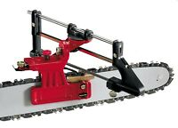 Tecomec DELUXE Chainsaw Sharpening File Guide Bar Mount replaces Oregon 557849