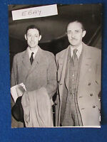 "Original Press Photo - 8""x6"" - General Sir Gerald Templer & Deputy - 1952"