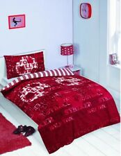 Red Football Duvet Cover