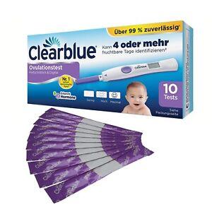 Clearblue Ovulationstest FORTSCHRITTLICH und DIGITAL 10/20 Stück Testhalter