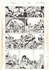 Deadpool #13 p.19 - Warriors Parody 1970's Action - 2013 art by Scott Koblish Comic Art