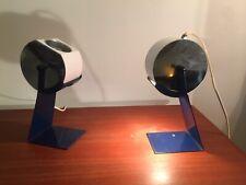 Lampe De Chevet 1960 Design Italien Tole Pliée