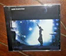 Lovers Live by Sade (CD, 2002, Sony)