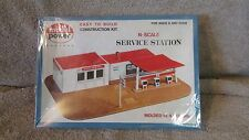 Model Power N Scale Service Station Construction Kit - No. 1503 - New!!!  (13 T)