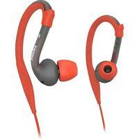 Philips SHQ3200 ActionFit Sports earhook headphones ActionFit Orange & Grey
