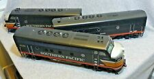A-B-A Set of Three F3 Locomotives...Southern Pacific (Black Widow) by USA Trains