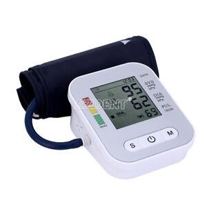 Blood pressure arm portable LCD display Sphygmomanometer Tools Auto Digital