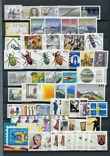 GERMANY 1993 MNH COMMEMORATIVES COMPLETE YEAR 59 Stamps + SHEET