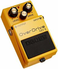 BOSS OD-3 Overdrive Guitar Pedal Effect NEW FREE SHIPPING