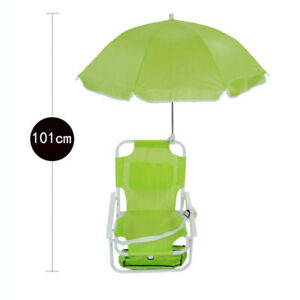 Multifunctional Folding Portable Umbrellas Deck Chairs Outdoor Beach Deck Chairs