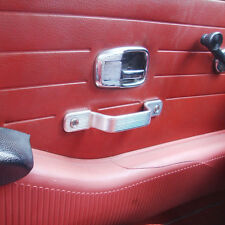 VW Baywindow  bus cab door handles Polished Aluminum by AAC from England.
