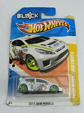 Hot Wheels '11 Ken Block Ford Fiesta 2011 New Models #V0036 New NRFP White 1:64