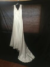 Ivory Bridal Wedding Gown size 14