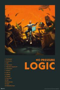 Logic Merch No Pressure Album Cover Art Track Rap Posters Rapper Poster 12x18