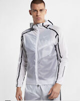 Mens Nike Tech Pack Repel Running White Lightweight Jacket Large L  AQ6711-100
