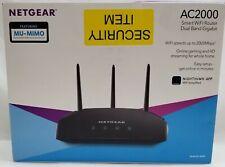 NETGEAR R6850-100NAS AC2000 Smart Wi-Fi Router-Wi-Fi 5 Dual Band Gigabit