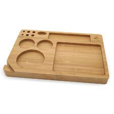"Bamboo Rolling Tray (9"" x 6"") - Green Goddess Supply"