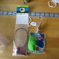Sea Striker Fluke Killer fishing lure , Off shore rig (lot#12147)