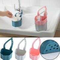 Hanging Drainer Basket Sink Shelf Soaps Sponges Drain Rack Bathroom Drainer