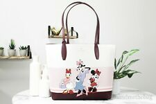 Kate Spade Disney Clarabelle Minnie Mouse Daisy Reversible Tote Bag Pouch