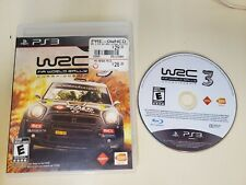 WRC 3 WORLD RALLY CHAMPIONSHIP PLAYSTATION 3 PS3 - FREE SHIP