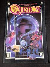 The Question No. 1 DC Comics November 1986
