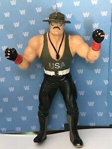 WWF LJN SGT SLAUGHTER - WWF LJN SGT SLAUGHTER MAIL AWAY - VINTAGE TITAN SPORTS