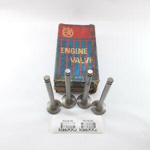 4pc Fits DATSUN B110 1200 A12 SET OF 4 EXHAUST VALVES NOS JAPAN 13202-H1000