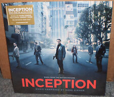 Inception CLEAR Vinyl LP Soundtrack Score Hans Zimmer Johnny Marr NEW The Smiths