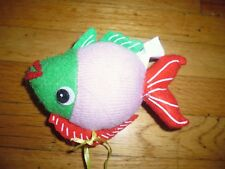 New  Christmas Tree Ornament Fish Ornament  Red Pink Green Color
