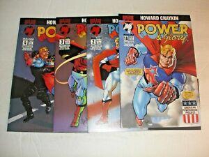 Power & Glory 1A 2 3 4 Set Malibu Comics Chaykin 1994